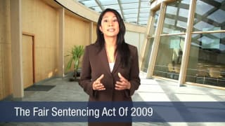 Video The Fair Sentencing Act Of 2009