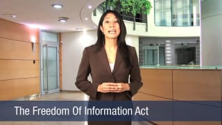 Video The Freedom Of Information Act