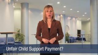 Video Unfair Child Support Payment
