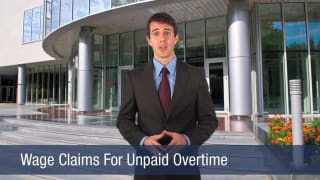 Video Wage Claims For Unpaid Overtime