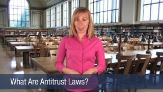 Video What Are Antitrust Laws