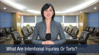 Video What Are Intentional Injuries Or Torts