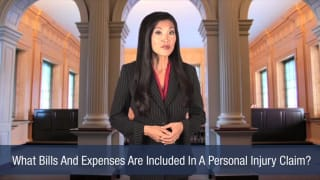 Video What Bills And Expenses Are Included In A Personal Injury Claim