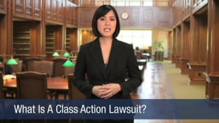 Video What Is A Class Action Lawsuit
