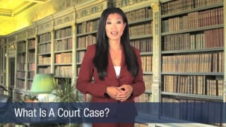 Video What Is A Court Case