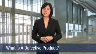 Video What Is A Defective Product