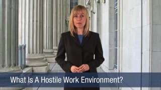 Video What Is A Hostile Work Environment