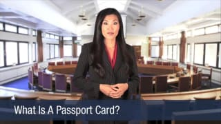 Video What Is A Passport Card
