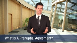 Video What Is A Prenuptial Agreement