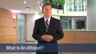 Video What Is An Affidavit
