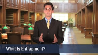 Video What Is Entrapment