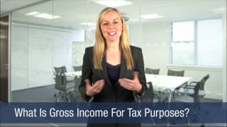 Video What Is Gross Income For Tax Purposes