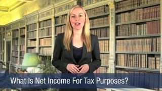 Video What Is Net Income For Tax Purposes