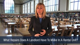 Video What Repairs Does A Landlord Have To Make In A Rental Unit