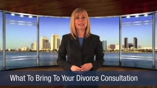 Video What To Bring To Your Divorce Consultation