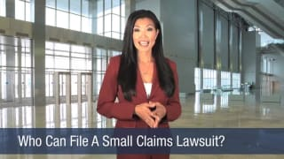 Video Who Can File A Small Claims Lawsuit