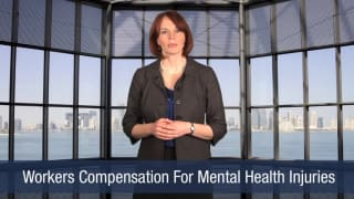 Video Workers Compensation For Mental Health Injuries