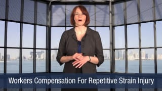 Video Workers Compensation For Repetitive Strain Injury