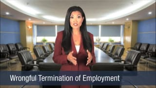 Video Wrongful Termination of Employment