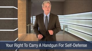 Video Your Right To Carry A Handgun For Self-Defense